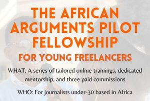 african arguments fellowship for freelance journalists wirkish