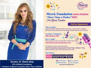 merck foundation africa more than a mother song awards