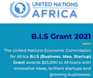 UNECA Business Idea Startup (B.I.S) Grant for Africans