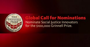 The Grinnell Prize for Social Justice Innovators